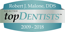Selected Top Dentist from 2009 to 2018